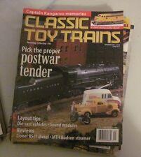 "Vintage ""Classic Toy Trains"" magazine September 2001"