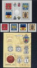 ROMANIA 2008 Provincial Arms set + 2 blocks MNH / **.