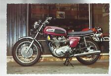 CARTOLINA  originale moto motorbike triumph trident 750 3 cilindri 200 km orari