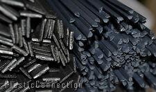 PP kit plastic welding rods mix 3,4,6,8mm, 100pcs, polypropylene, black