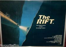Cinema Poster: RIFT, THE 1990 (Quad) Jack Scalia R. Lee Ermey Ray Wise