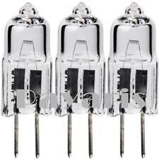 Lot Of 3 12 Volt 10W Watts Halogen Light Bulbs Jc G4 BiPin Type