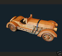 LTD EDITION Wooden Collectible American Keystone MERCEDES CONVERTIBLE  NIB