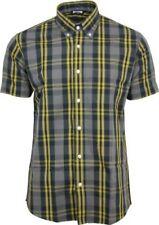 Camisas y polos de hombre negras grises de 100% algodón