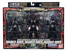 Bandai S.I.C. Masked Rider Hibiki Sabaki Eiki Dannki 2006 Chogokin Figure 3 Pack