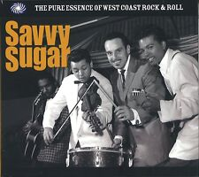 Savvy Sugar-West Coast Rock & Roll 3-CD NEW SEALED Cadets/Robins/Kents/Turks+