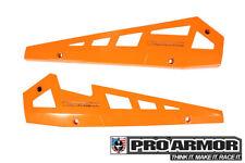 Pro Armor Rock Metal Flat Sliders Orange 14-19 RZR XP1000 XP1K 900S P141221OR
