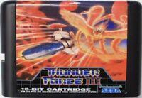 Thunder Force III (1990) 16 Bit Game Card For Sega Genesis / Mega Drive System