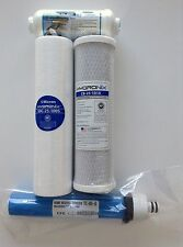 RAINSOFT ULTREFINER UF50 UF50T UF50N 50 GPD FILTER PACK WITH POST- WELL WATER