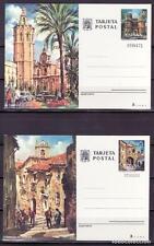 TARJETA ENTERO POSTAL EDIFIL 105/106. NUEVAS SIN CIRCULAR. TURISMO.AÑO 1974