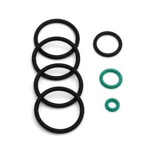 For BMW Upper&Lower Radiator Hose O-Ring Seal Cooling System Sensor Set Replace