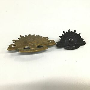 Two Australian Commonwealth Military Forces Pin Brooches #550