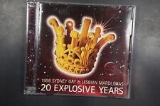 1998 Sydney Gay & Lesbian Mardi Gras: 20 Explosive Years 2x CD  (C496)