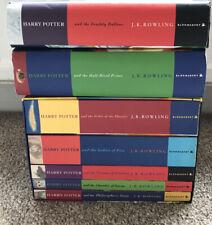 Complete Harry Potter 7 Book Set 5 Paperback 2 Hardback First Edition