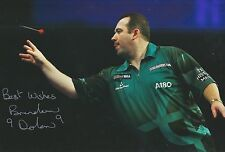 Brendan Dolan Hand Signed 12x8 Photo Darts 'The History Maker'.