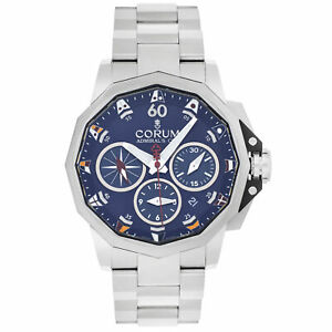 Corum Admiral's Cup Blue Dial Automatic Men's Watch A753/04237
