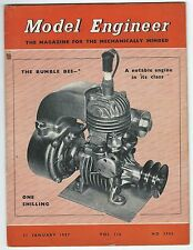 Model Engineer January 1957 Vol.116 No.2906 Percival Marshall & Co Ltd Good-