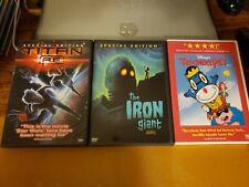 Titan A.E. + The Iron Giant + Disney's Teacher's Pet - 3 Dvd Lot Free Shipping