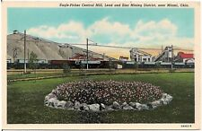 Eagle-Picher Central Mill, Lead and Zinc Mining District, Near Miami OK Postcard