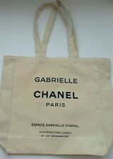 CHANEL VIP Gift Espace Gabrielle Canvas Tote Bag Limited Edition Fall 2017 New