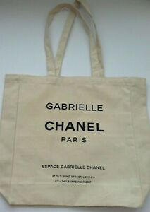 CHANEL Gift Espace Gabrielle Canvas Tote Bag Limited Edition Fall 2017 New