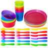 IKEA Kalas Set of Childrens BPA Free Plastic Bowls, Cups, Cutlery or Plates