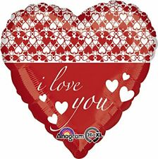 Amscan International 2987901 Infinity Hearts Standard Foil Balloon