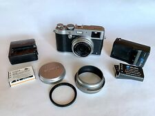 Fujifilm X Series X100T 16.3Mp Digital Camera Silver + Accessories
