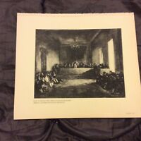 Vintage Book Print - The Junta of the Philippines - Goya - 1938