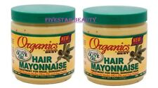 2 X AFRICA'S BEST ORGANICS HAIR MAYONNAISE TREATMENT FOR HAIRS 425g /15 OZ