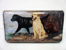 New Labrador Retriever Dog Check Book Wallet By Ruth Maystead No Zippered Pocket