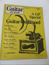 Guitar Player Magazine September 1972 Chet Atkins Wally Heider