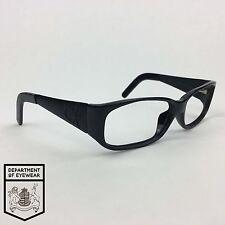 Calvin Klein Gafas Marco Negro Rectángulo auténtico. Mod: desgastado