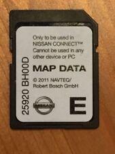 Nissan Sat Nav SD Card 25920 BH00D 2010-juke qashqai note.