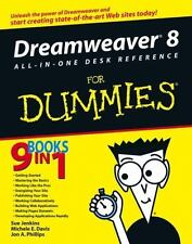 NEW - Dreamweaver 8 All-in-One Desk Reference For Dummies
