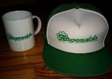 FITZGERALD'S Casino Hotel Las Vegas RENO COFFEE MUG Cup & snapback Hat cap LOT