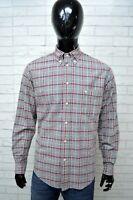 Camicia MURPHY & NYE Uomo Taglia Size M Maglia Chemise Shirt Man a Quadri Cotone
