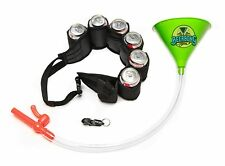 Beer Bong Party Pack - Green - Beer Belt - Shotgun Key Chain - MADE IN USA