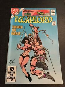 The Warlord#65 Incredible Condition 9.4(1983) Mike Grell Cover
