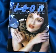 MADONNA ICON MAGAZINE #15 Vol 4 Issue 1 1993 OFFICIAL FAN CLUB I'll Remember