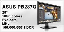 ASUS PB287Q 4k UHD LED Monitor 3840X2160 Resolution (Black, 28-Inch)
