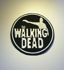 Embroidery The Walking Dead Sew Iron On Patch Badge Bag Hat Cap Jeans Applique