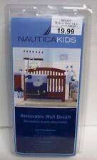 Nautica Kids Brody Whale/Anchor Wall Decals, Navy/Light Blue/Royal/Yellow NEW