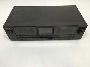 Vintage JVC TD-W95 Stereo Double Dual Cassette Deck Tape Player Recorder