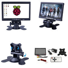 7 Inch TFT-LCD 1024*600 HDMI VGA AV Monitor HD Car Display for Raspberry