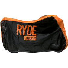 RYDE MEDIUM ORANGE WATERPROOF MOTORCYCLE COVER BIKE/MOTORBIKE RAIN PROTECTOR M