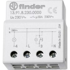 Rele ad impulsi elettronico silenzioso e temporizzato FINDER 13.91.8.230