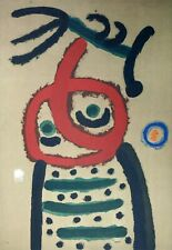 Joan Miró - Hand Signed Lithograph E.A.