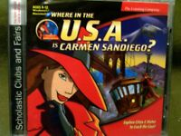 The Learning Company Where in the U.S.A. is Carmen Sandiego? CD-ROM Ages 8-12