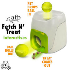 Interactive Hyper Fetch Machine Dog Cat Pet AFP Ball Play Toy Game